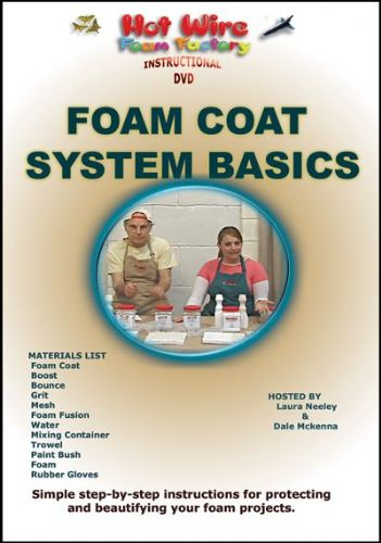 Hot Wire Foam Factory Foam Coat System The Basics Instructional DVD